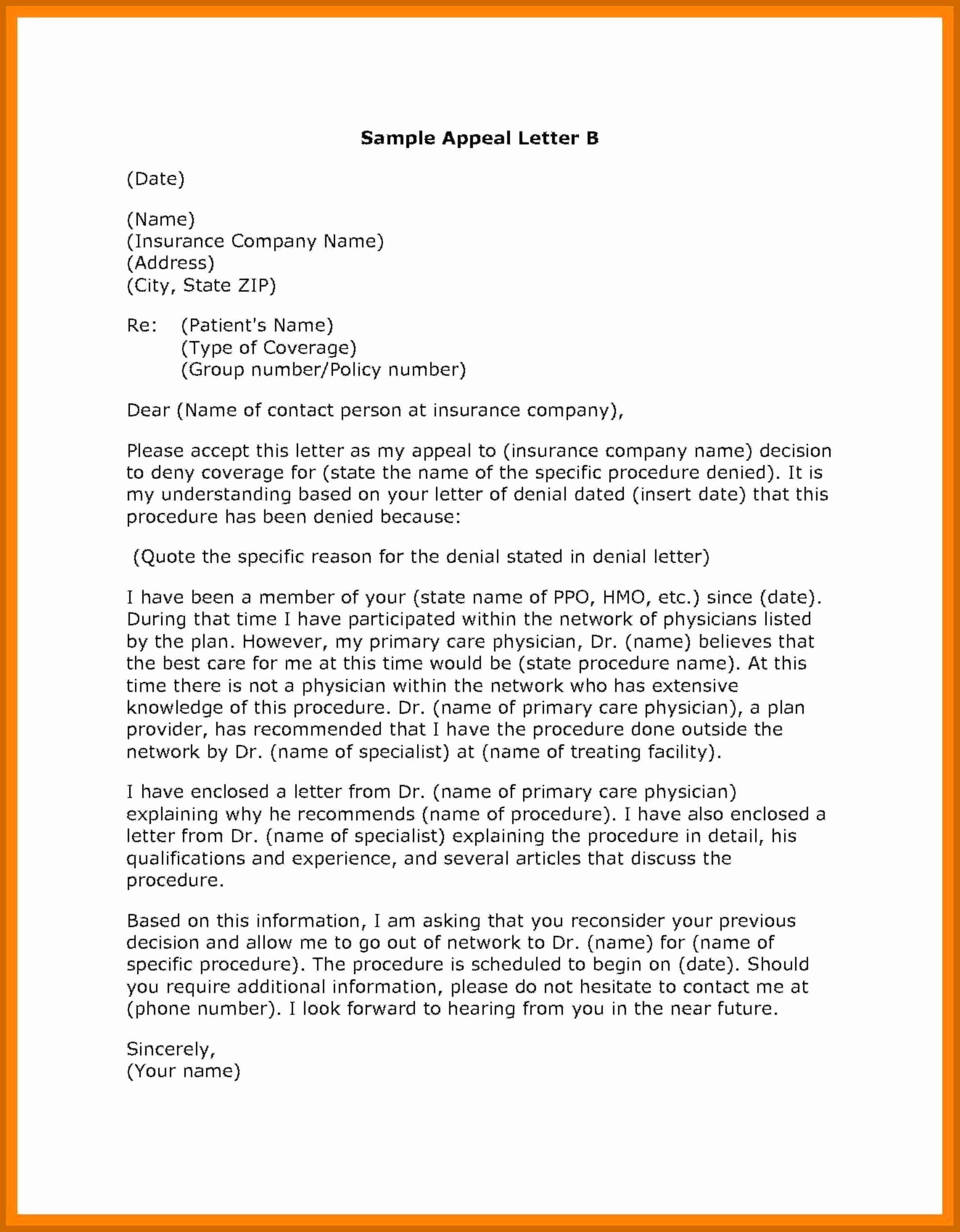 Grievance Appeal Letter Elegant 7 8 Grievance Appeal Letter