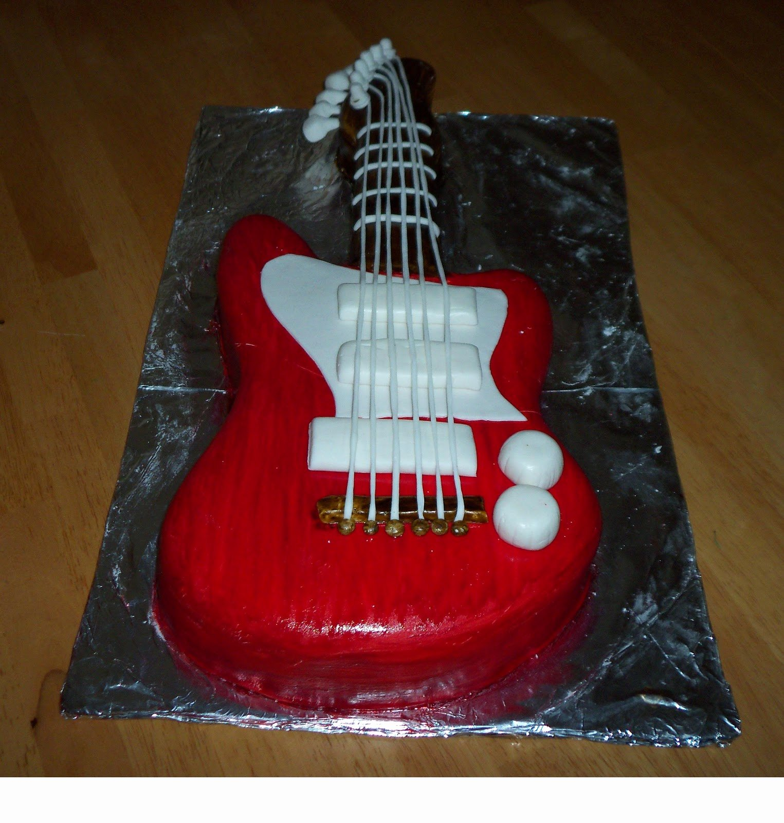 Guitar Cake Template New 1525px