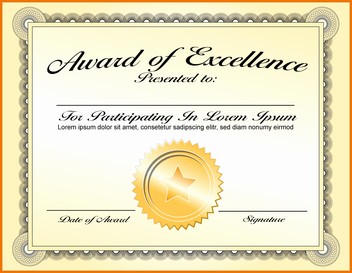 Guitar Lesson Gift Certificate Template Elegant Certificate Award Sample Certificate Design and