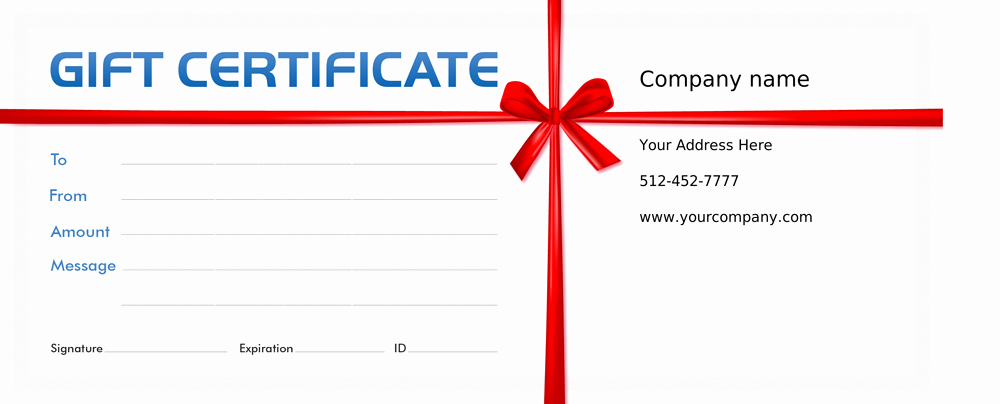 Guitar Lesson Gift Certificate Template New In E Activator Voucher Programs & Gift Certificates