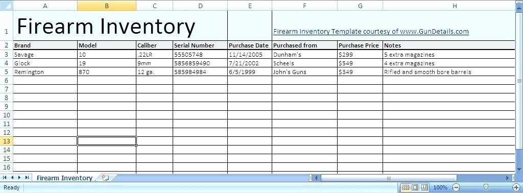Gun Inventory Spreadsheet Awesome Spreadsheetsabout Excel Spreadsheet Activity