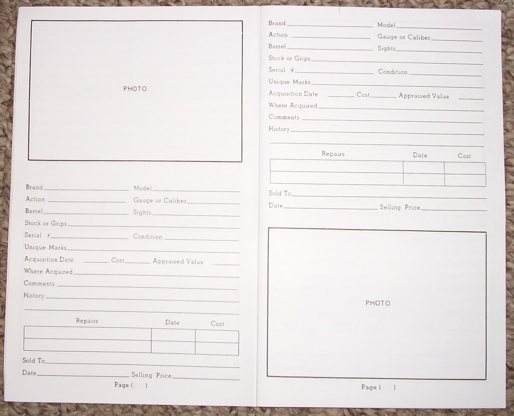 Gun Inventory Spreadsheet Fresh 12 Best S Of Free Printable Gun Inventory form