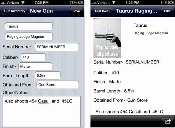 Gun Inventory Template Luxury Firearms Inventory Spreadsheet