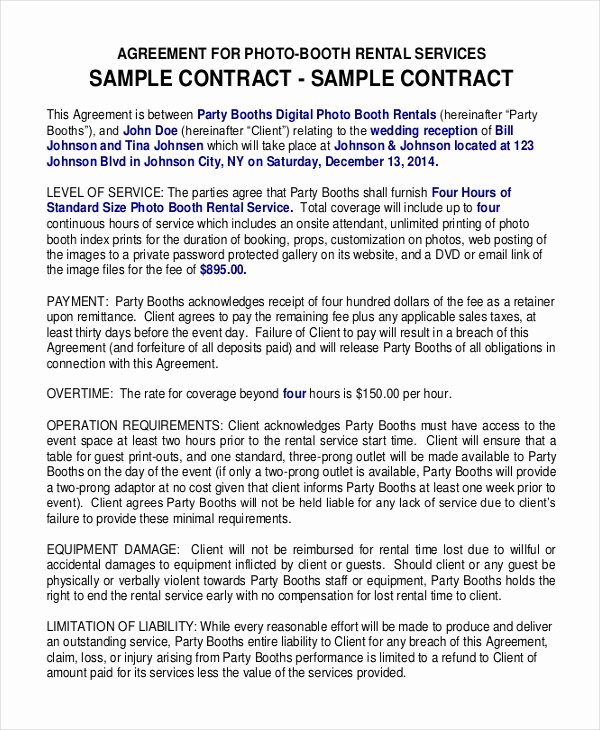 Hair Stylist Contract for Wedding Unique 29 Of Salon Chair Rental Agreement Template
