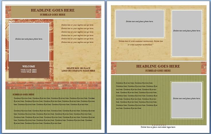 Half Page Flyer Template Word Best Of 19 Best Fake Doctors Note Images On Pinterest