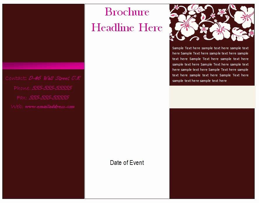 Half Page Flyer Template Word Fresh Word Flyer Designs Yourweek 5c8488eca25e