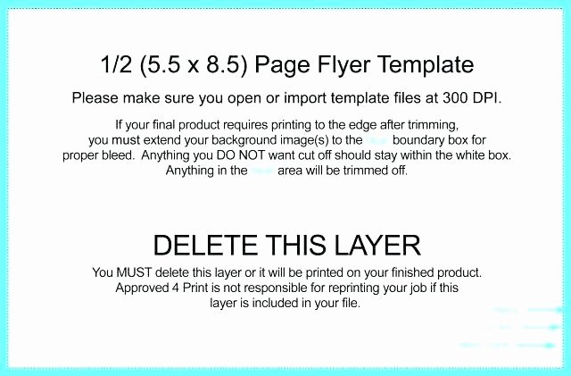 Half Page Flyer Template Word Lovely Quarter Page Flyer Full Flyers Presentation Template