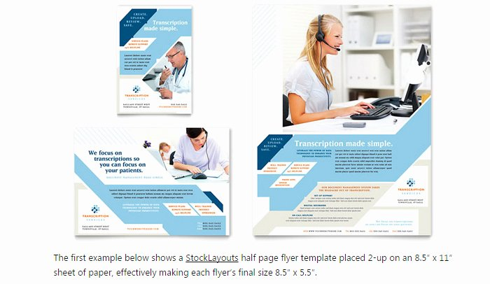 Half Page Flyer Template Word Luxury 6 Half Page Flyer Template