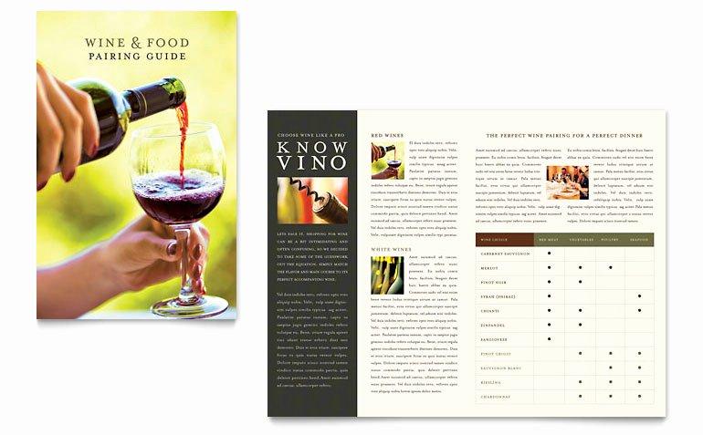 Half Page Flyer Template Word Luxury Vineyard & Winery Brochure Template Word & Publisher