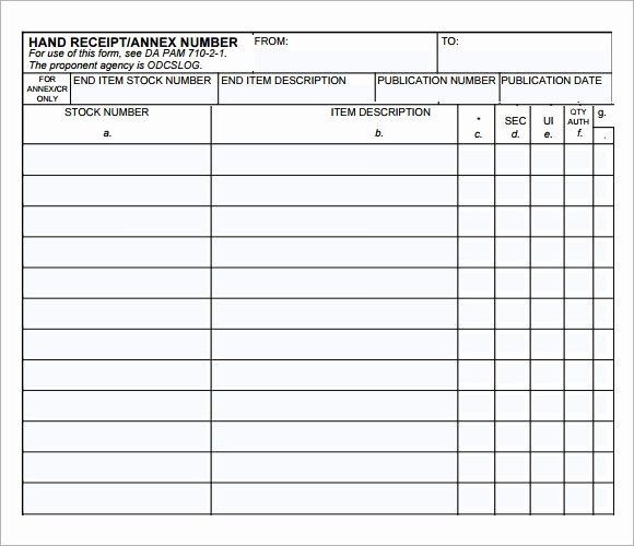Hand Written Receipt Template New 10 Printable Receipt Templates – Free Samples Examples