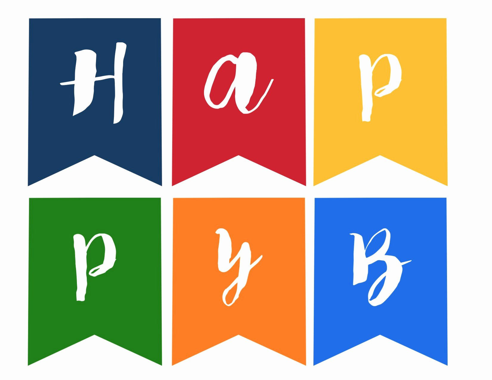 Happy Birthday Sign Template Elegant Happy Birthday Banner Free Printable Paper Trail Design