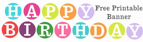 Happy Birthday Sign Template Fresh Free Printable Happy Birthday Banner Archives Karen