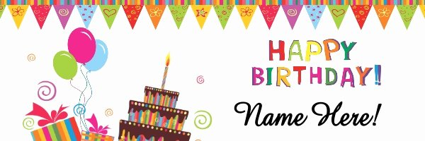 Happy Birthday Sign Template Unique Birthday Banner Template