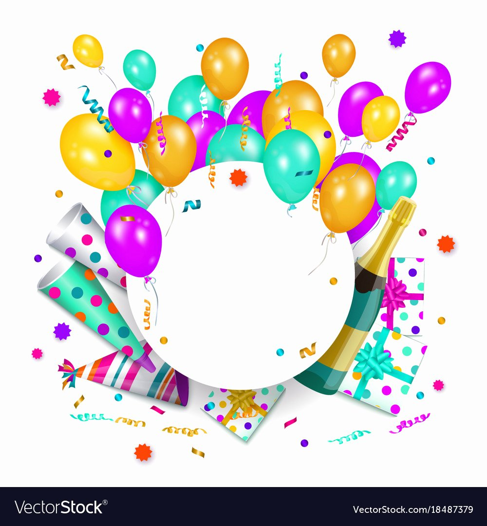 Happy Birthday Sign Template Unique Happy Birthday Banner Poster Template Royalty Free Vector