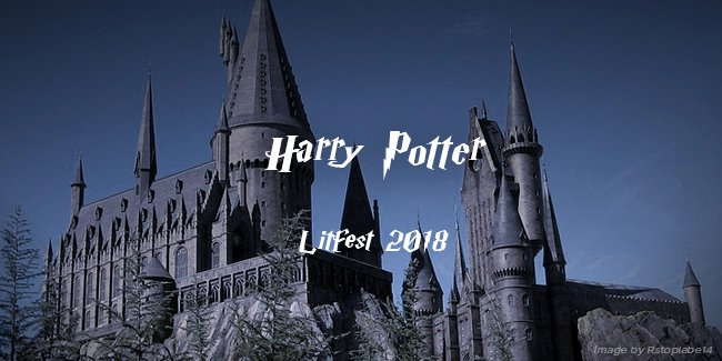 Harry Potter Google Slides theme Elegant 2018 Literary Festival