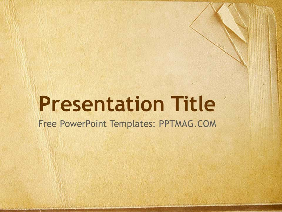 Harry Potter Google Slides theme Lovely Free Old Book Paper Powerpoint Template Pptmag
