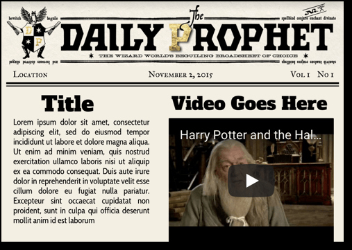 Harry Potter Google Slides theme Lovely Seven Great Google Slides Templates for Creativity