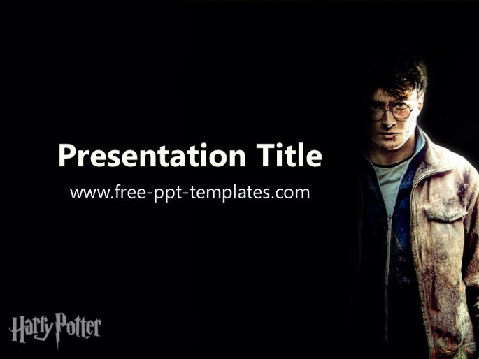Harry Potter Google Slides theme Unique Harry Potter Ppt Template