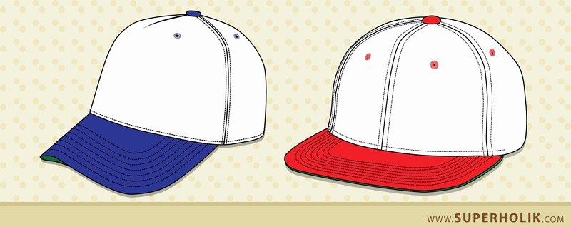 Hat Template Vector Awesome Hat Template Vector
