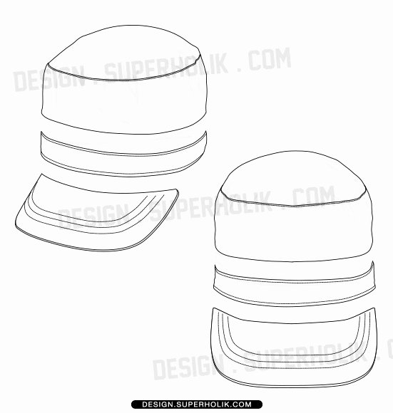 Hat Template Vector Fresh Fashion Design Templates Vector Illustrations and Clip