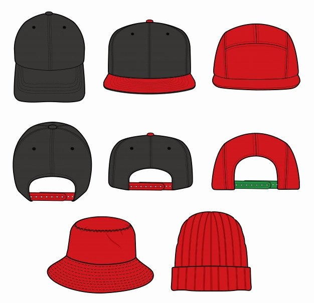 Hat Template Vector Lovely Hat Vectors S and Psd Files