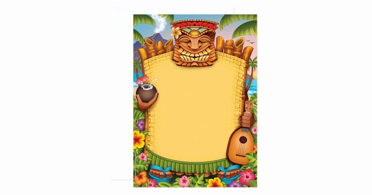 Hawaiian themed Invitation Templates Free Awesome Luau Invitations Hawaiian Party Invitations