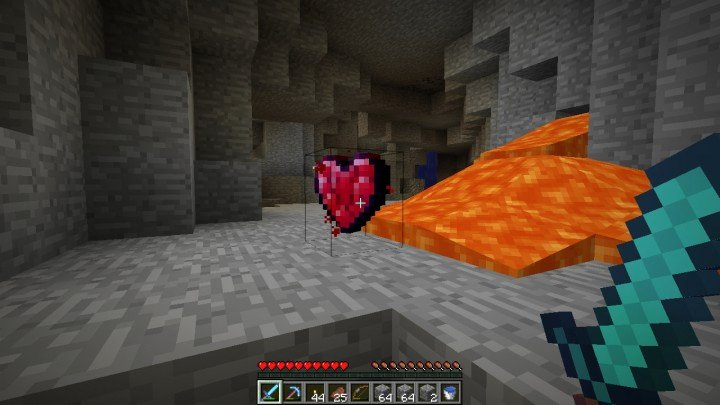 Heart Minecraft Banner Best Of [forge] [1 7 10] Heart Crystal 1 1 1 Mine and Gain Extra