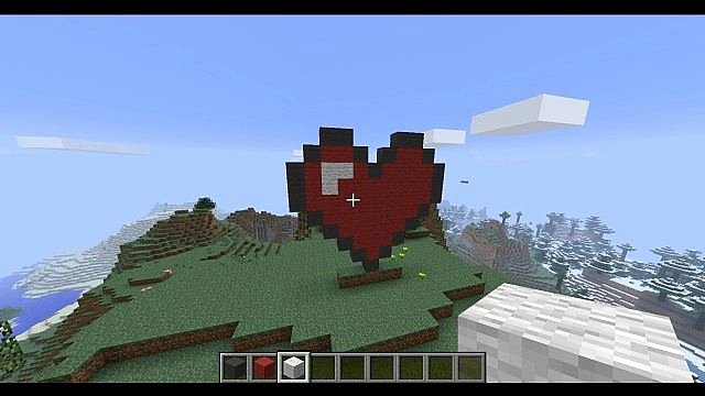 Heart Minecraft Banner Luxury Build A Zelda Link Heart with Me Minecraft Project