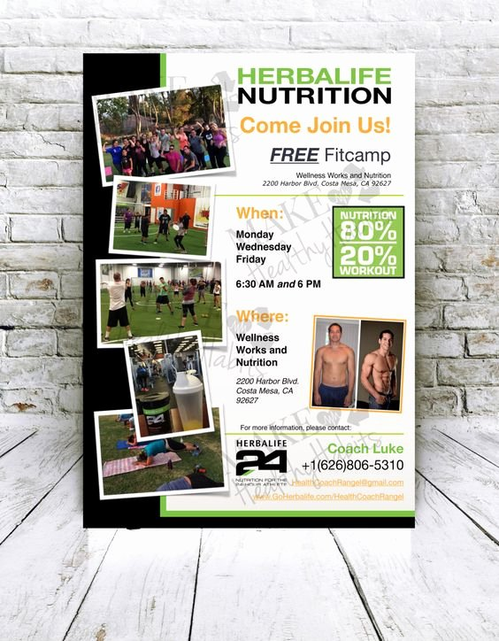 Herbalife Flyer Sample Beautiful Herbalife Flyers and Etsy On Pinterest