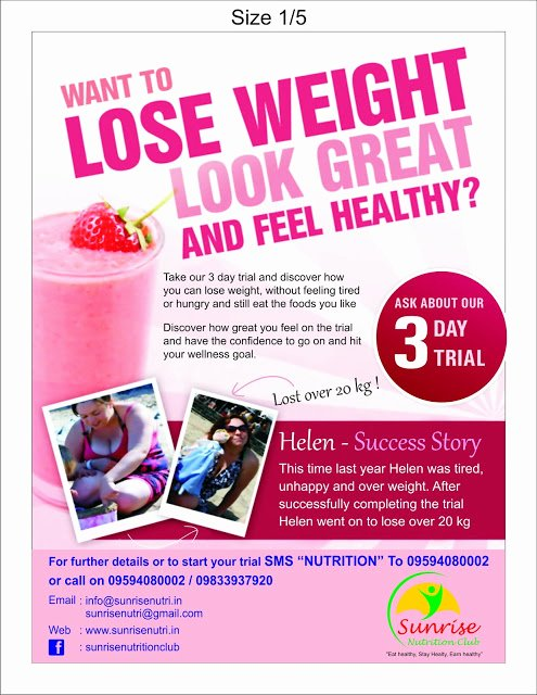 Herbalife Flyer Sample Inspirational Sunrise Nutrition Club Herbalife Independent Distributor