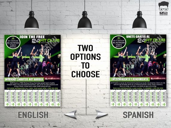 Herbalife Flyer Template Beautiful Herbalife 24 Flyer Fit Club Custom by Ajsgraphdesign On