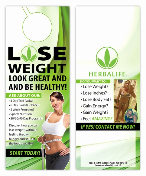 Herbalife Flyer Template Luxury Herbalife · Kz Creative Services · Line Store Powered by