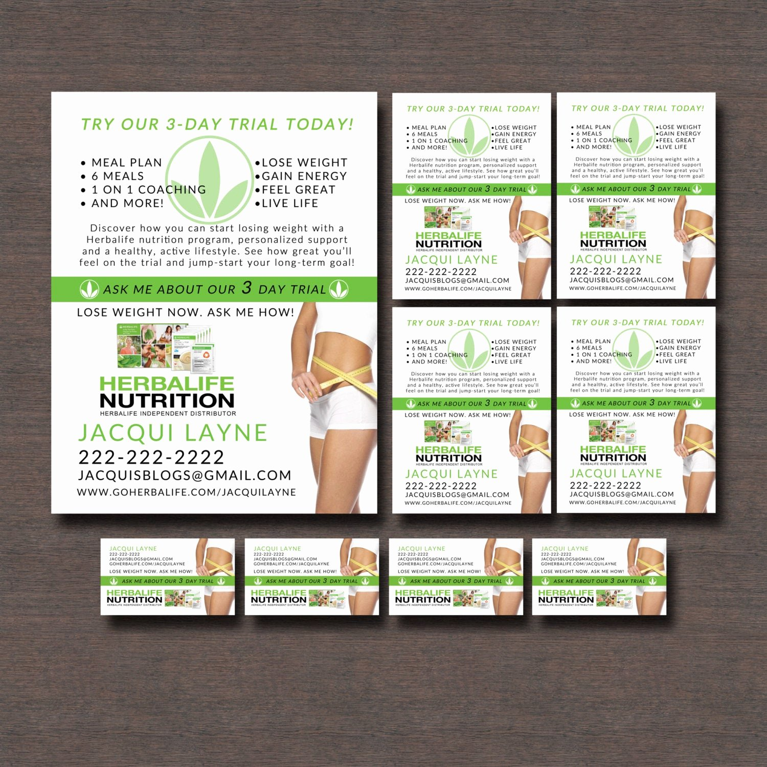 Herbalife Flyer Templates Awesome Herbalife 3 Day Trial Flyers and Business by
