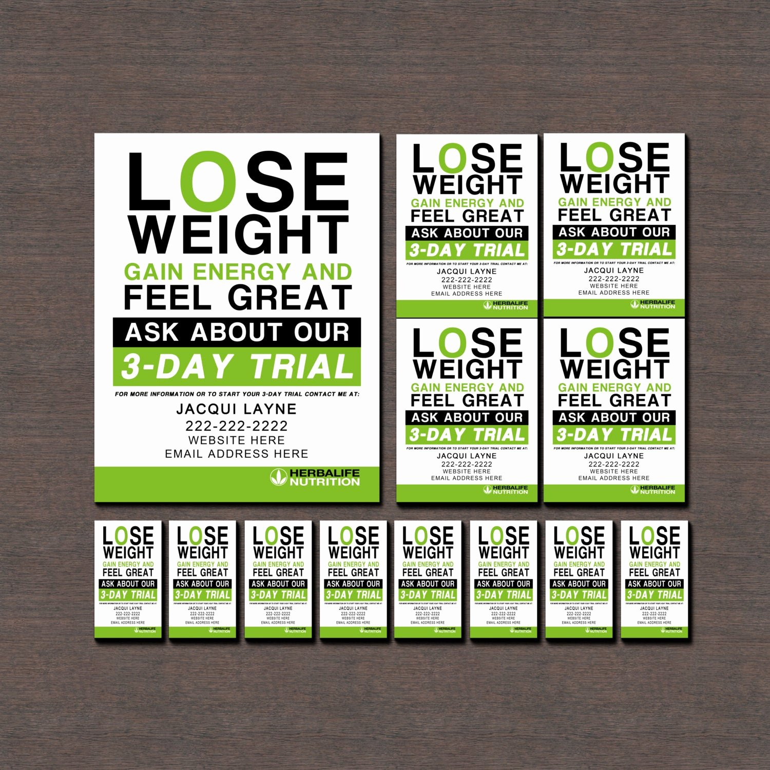 Herbalife Flyer Templates Unique Herbalife Flyers and Business Cards by Wackyjacquisdesigns