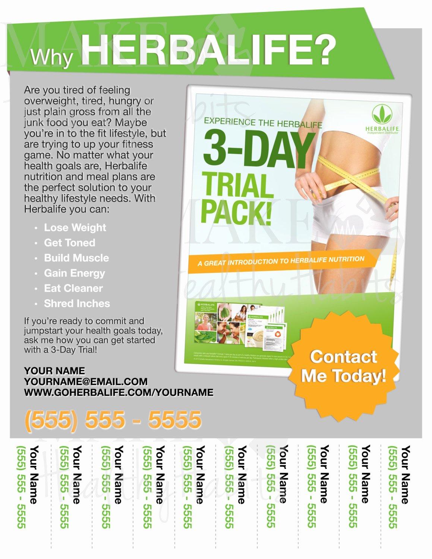 Herbalife Flyers Template Elegant Printable Herbalife Flyer by Kellylynnettedesigns On Etsy