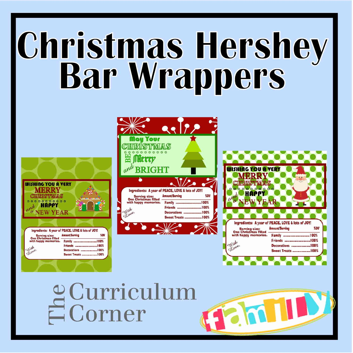 Hershey Bar Wrapper Dimensions Best Of Christmas Hershey Bar Wrappers