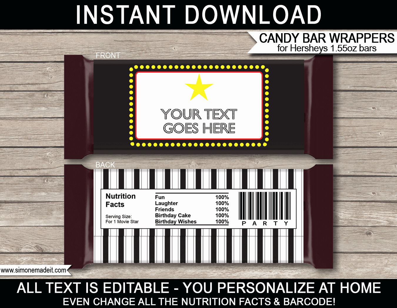 Hershey Bar Wrapper Dimensions Luxury Hershey Candy Bar Wrapper Template Free Download Aashe