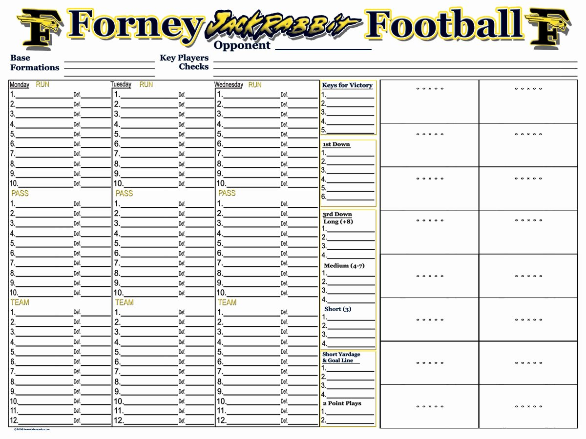 High School Football Practice Schedule Template Elegant 30 Of Football Game Plan Template