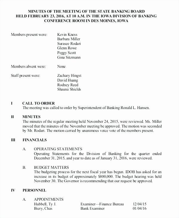 Hoa Board Meeting Minutes Template Luxury Hoa Meeting Minutes Template