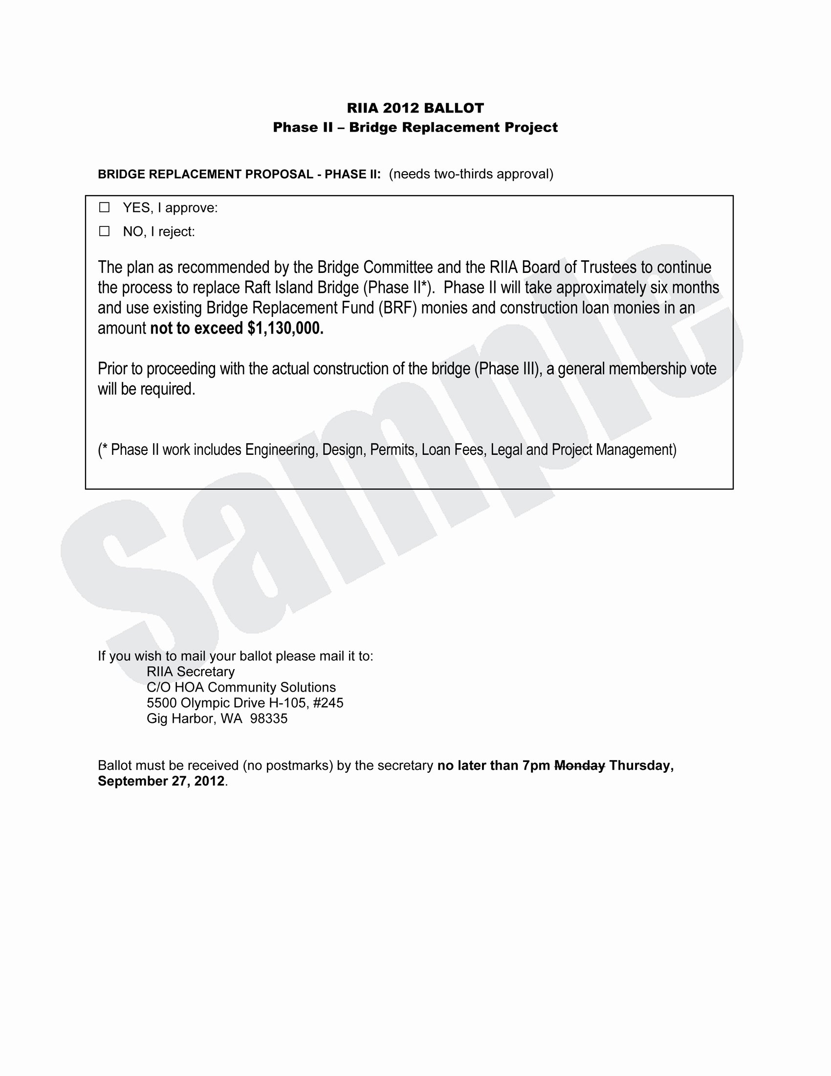Hoa Proxy Vote form Template Lovely 28 Of Voting Letter Template