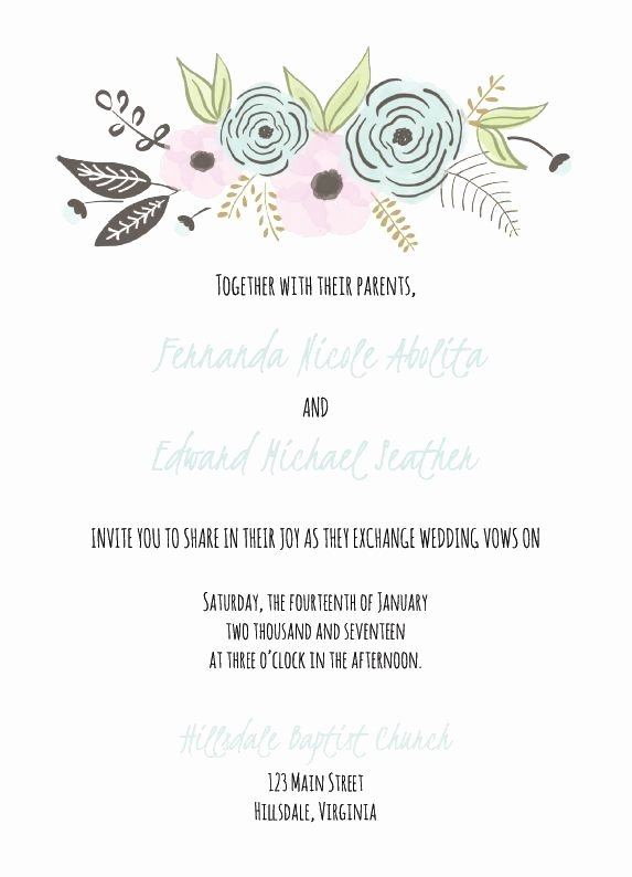Hobby Lobby Wedding Invite Templates Luxury Hobby Lobby Wedding Templates Invitation Template