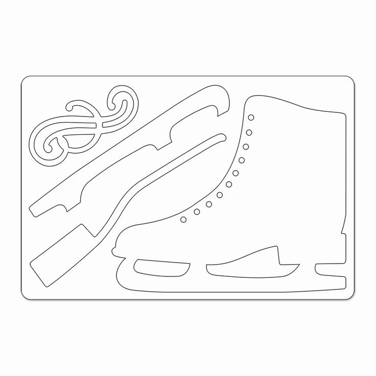 Hockey Skate Template Free Printable Lovely 1000 Images About Cake Templates On Pinterest