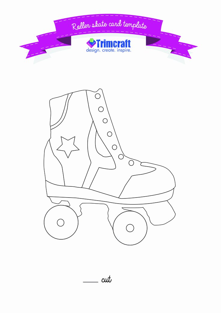 Hockey Skate Template Free Printable Luxury Pin by Amanda Harrod On Templates Clothing and Shoes