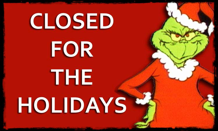 Holiday Closed Sign Template Fresh December 2013