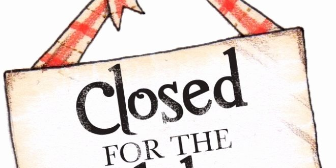 Holiday Closed Sign Template Inspirational Closed for the Holidays Sign Free Download Elsevier