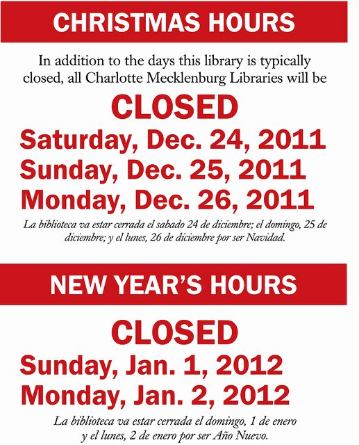 Holiday Closed Sign Template Lovely 5 Best Of Printable Holiday Closed Signs Business