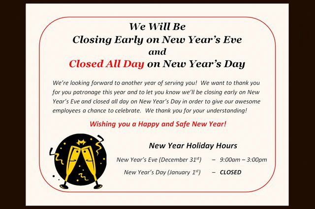 Holiday Closed Sign Template New How to Post A Sign for the Observance Of A Holiday