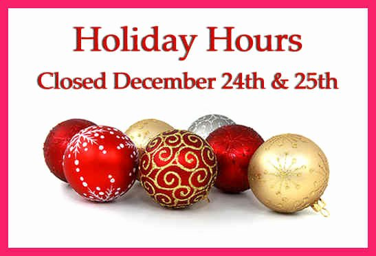 Holiday Hours Sign Template Awesome Closed for Christmas Sign