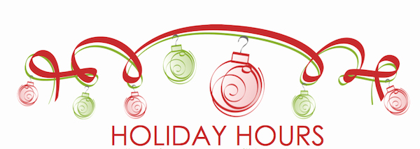 Holiday Hours Sign Template Elegant Holiday Hours