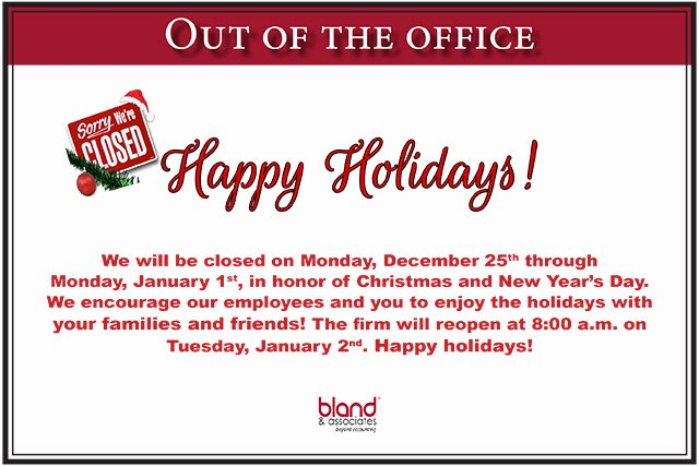 Holiday Hours Sign Template Fresh Holiday Fice Hours Here